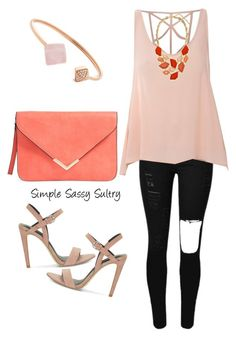 """""""Blush"""" by simplesassysultry on Polyvore featuring Glamorous, Rebecca Minkoff and Michael Kors"""
