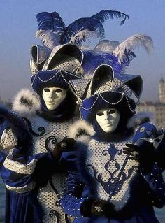 Venetian masquerade.