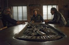 """New photos from the """"Sons of Anarchy"""" Season 6 finale show that in the end, the club is what matters most."""