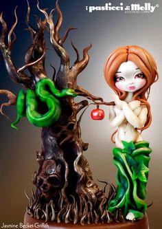 porcelana fria fondant molly e jasmine
