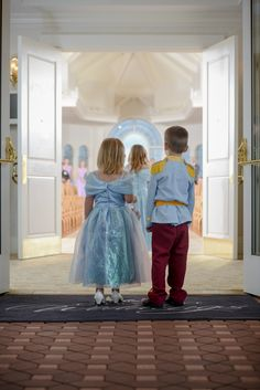 Cinderella & Prince Charming #FlowerGirl #RingBearer
