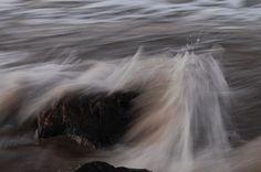 Piedra en el agua.