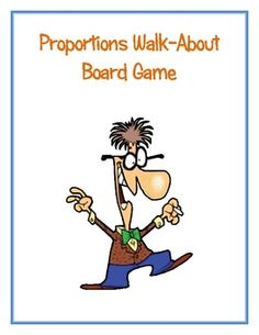 Have students practice writing and solving ratios and proportions while they play Proportions Walk About! This is a two player game and students wi...