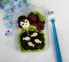 Penguin fishing bento | Bento Days