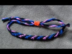 ■ BeyondBracelets - The Adjustable Knot for Macrame & Hemp Bracelets. NEW VERSION (no glue required) . How to make the adjustable knot for your bracelets. Diy Bracelets With String, Hemp Bracelets, Survival Bracelets, Friendship Bracelet Knots, Friendship Bracelets Tutorial, Hemp Jewelry, Jewelry Knots, Square Knot Bracelets, Chevron Bracelet