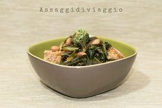 La zuppa della nonna con fagioli, bietole, cavolo nero e cicoria di Anna Luisa e Fabio