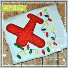 LIGHTS AIRPLANE Christmas Applique, Airplane, Pot Holders, Machine Embroidery, Christmas Decorations, Lights, The Originals, Sewing, Christmas Stuff