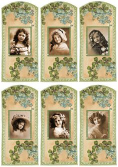 Lilac & Lavender: Irish Blessings ~ Free gift tags