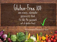 Gluten free 101 amandaplazek.com