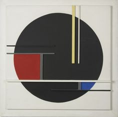 "JEAN GORIN: ""Composition No. 36,"" 1960 - Repinned by UXSherlock."