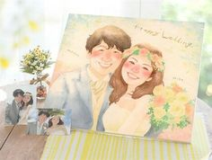 Wedding Illustration, Couple Illustration, Illustration Art, Wedding Art, Wedding Tips, Wedding Photos, Step By Step Drawing, Chibi, Wedding Invitations