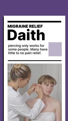 There's only anecdotal evidence that daith piercing for migraine relief works. Surprisingly, daith piercing for migraines became a 'thing' when a mention from one person on social media went viral. Come read about the pros and cons before you make your final decision @migrainesavvy #daith #piercing #headaches #migraines Piercing For Migraine Relief, Daith Piercing Migraine, Ear Piercings, Types Of Migraines, Anecdotal Evidence, Migraine Attack, How To Find Out, How To Become, Headache Remedies