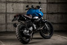 BMW R1100GS Blue Hunter #1 by National Custom Tech NCT Motorcycles
