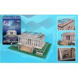 Lincoln Memorial 3D Puzzle 42 Pieces Cubic Fun