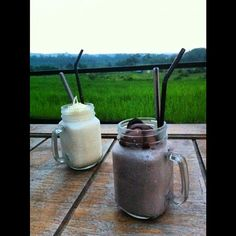 Vanilla cheese and milk shake chocolate!