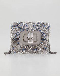 #Marchesa Phoebe Small Shoulder Bag, Multi #Neiman Marcus