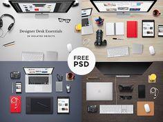 designer-desk-essentials