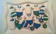 Welcome Baby Cookies by EZtheBakingOwl