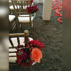 Pew or seating decorations add the final touch to your ceremony. Same Day Flower Delivery, Ladder Decor, Floral Design, Touch, Seasons, Table Decorations, Creative, Flowers, Gifts