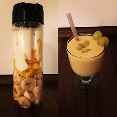 Smoothie-Time   Mango  Banane  Joghurt  #smoothie #healthy #yummy #läuftbeiuns #berlin #instagood #picoftheday #instalike #instalove #instagermany #running #relax #weekend #happy #undduso #runifico