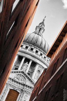 St Paul's Cathedral, London, England.  One of my most favourite places in England.