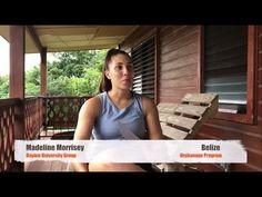 Mission Trips Belize Orphanage Review Madeline Morrissey University of D... Volunteer Work, Volunteer Abroad, University Of Dayton, Mission Trips, Gap Year, Belize, Travel, Viajes, Time Out