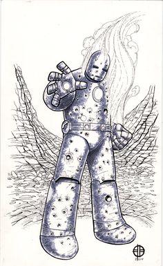 Iron-Man MK1 - Brett Barkley