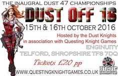 Tickets for DUST OFF go on sale