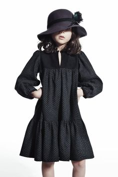 Talc - love it - How cute is this dress and hat!