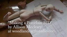 Making a Porcelain BJD FREE tutorial