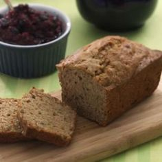 Zucchini-Walnut Loaf from Eating Well. Make extra loaves when zucchini is abundant, because these loaves freeze well. Zucchini Bread Recipes, Loaf Recipes, Dessert Recipes, Healthy Zucchini, Healthy Recipes, Recipe Zucchini, Zucchini Loaf, Diabetic Recipes, Yummy Recipes