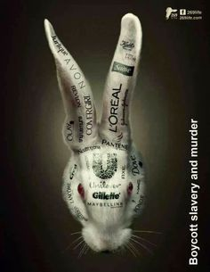 Boycott these brands that test on animals.