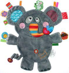 Label-Label Snuttefilt Friends Elefant