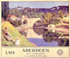 This Aberdeen Brig o' balgownie Art Print Art Print is created using state of the art, industry leading Digital printers. The result - a stunning reproduction at an affordable price. Aberdeen Brig o' balgownie Posters Uk, Train Posters, Railway Posters, Online Posters, Poster Prints, Art Prints, City By The Sea, British Travel, Travel Ads
