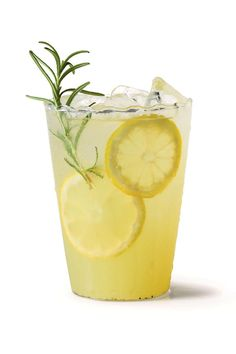 Refreshing Teas and Non-Alcoholic Sippers: Vanilla-Rosemary Lemonade