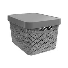 Decorative Bin ($7.99) ❤ Liked On Polyvore Featuring Home, Home Decor, Small