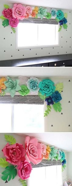 20 Very Cheap and Easy DIY Window Valance Ideas You Would Love - HomeDesignInspired - - Bedroom Valances, Kitchen Window Valances, Diy Curtains, Diy Bedroom, Trendy Bedroom, Girls Bedroom, Bedrooms, Valences For Windows, Cheap Windows