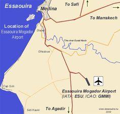 L'aéroport de #ESSAOUIRA est en nette progression. Il fait bon vivre au Maroc !