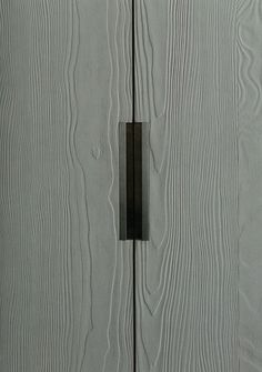 flush door handle detail