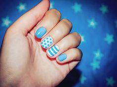 No tiene por qué ser complicado ponernos creativas con nuestras uñas cortas.