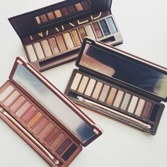 pinterest: @lilyosm | naked 1 2 3 smoky palettes eyes eyeshadow face makeup