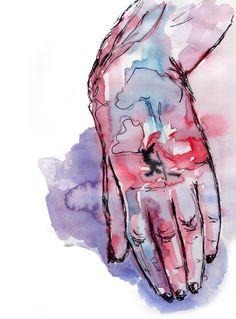 #sketch #hand  by aleksandrav