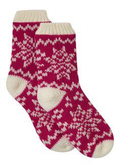 Matalan - Chunky Knit Sleep socks