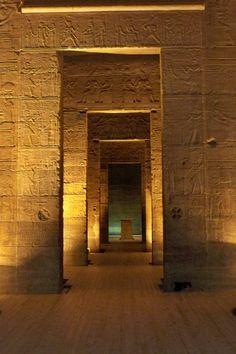 Temple in Aswan, Egypt