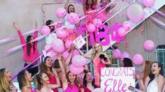 """Getting """"Legally Blonde"""" as the theme for the Greek Week photo challenge. TSM."""