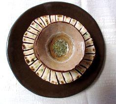 brown set~ Dalya Yohai ceramics
