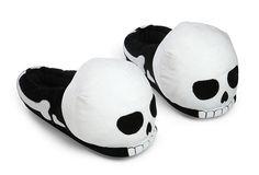 Pantuflas dormilonas de calaveras, Estilo hasta la hora de dormir