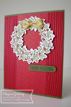 stampinup_peaceful wreath_weihnachtskarte