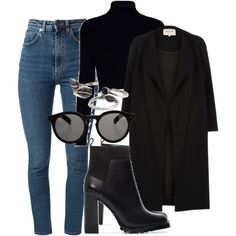 Sem título #2214 by mariandradde on Polyvore featuring Jack Wills, River Island, Yves Saint Laurent, Zara, Forever 21 and Illesteva