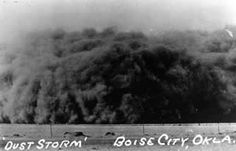 boise city, oklahoma dust storm in 1935